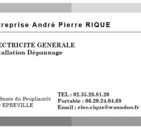 Logo RIQUE electricite