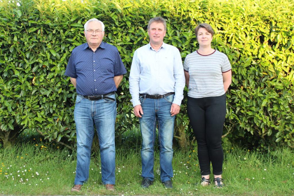 Mr Le Maire et ses deux adjoints